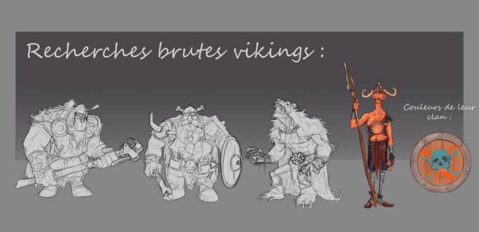 Concept viking game 01 by Popuche