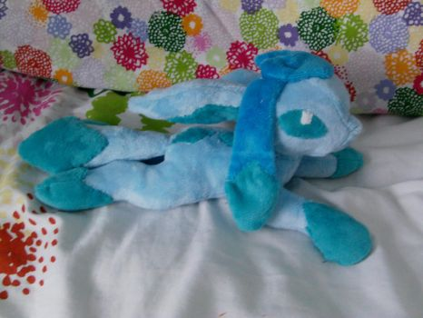 Glaceon (For sale) by DappleHeartPlush