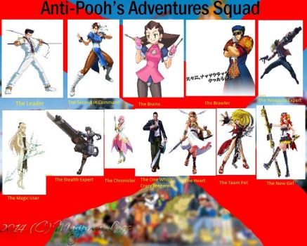 Anti-Pooh's Adventures Squad: TB Tabby Edition by TBTabby