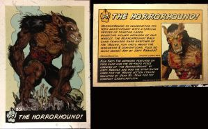 Hororhound trading card by BLACKPLAGUE1348