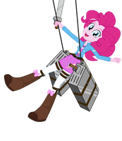 Wonderscout Captain Pinkie Pie by Amante56