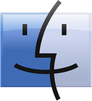 Finder Logo vector(remade) by Windows7StarterFan