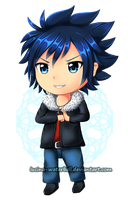 Gray Fullbuster Chibi by Lucina-Waterbell