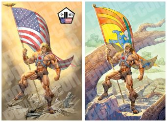 He-Man Flags by TyreeComix