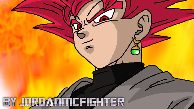 Goku Black SSJG by JordanMcFighter