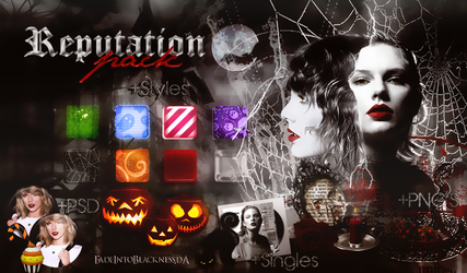 +Reputation {CD + Pack} by FadeIntoBlackness