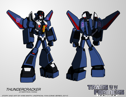 TF:Ignition - Thundercracker (Cyb. Robot Mode) by KrisSmithDW