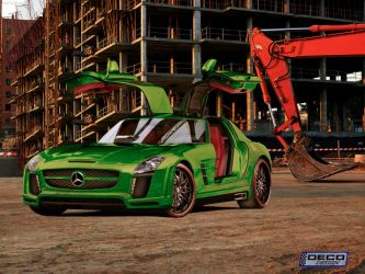 Mescedes CLS AMG Tuning by DCdeco