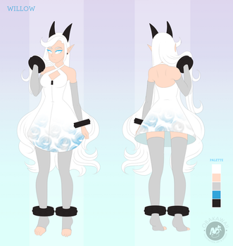 Character Reference - Willow by Obakawaii