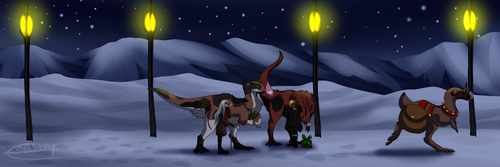 Monthly: Santa's secret service by Crashfurs