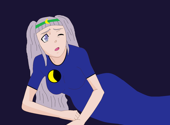 Luna by Mike-the-dabbler
