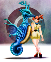 Misty's Kingdra