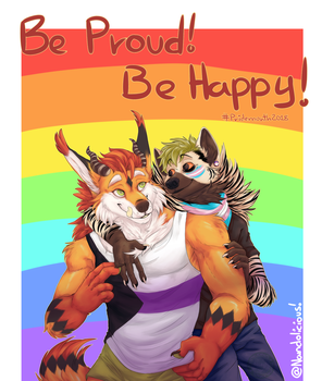[PA] Be pround, Be happy by Nandolicious
