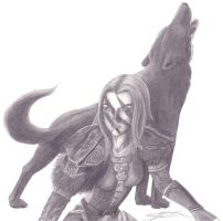 Aela the Huntress by Black-Wolf-of-Hell