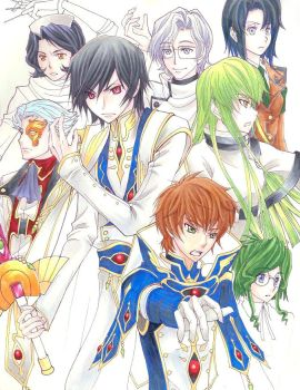 Code Geass WIP: Team Lelouch by FadingColors