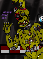 As Springtrap should have appeared in Fnaf 6 by Missingno-54
