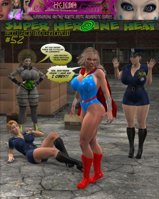Super Heroine Heat 52 cover by WikkidLester