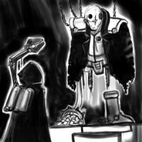 Techpriest finds zigma by Germille