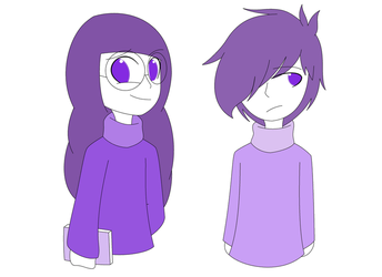 Glitchtale - Perseverance Soul and Seth by xXkerrysweetXx