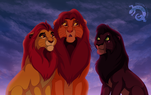 The lions of the Pride by DigitalIguana