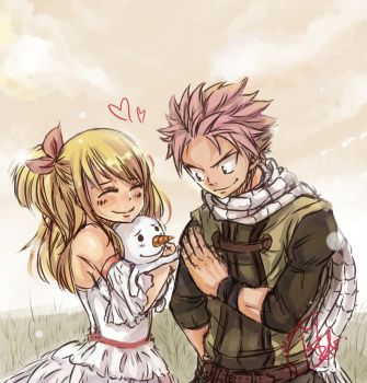 fairy tail - Take Care Of Her For Me by Bludy-chu