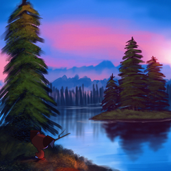 Happy Little Trees by Wreckham