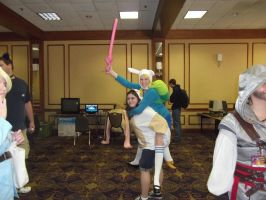 AAC 2011 ADVENTURE TIME by DancingRoxas