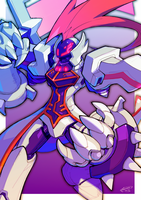 Omega The Devil Reploid by Tomycase