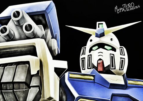 RX-78NT1 Alex  by soteriosalles