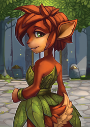 Spyro Reignited Trilogy: Elora the Faun by RenePolumorfous