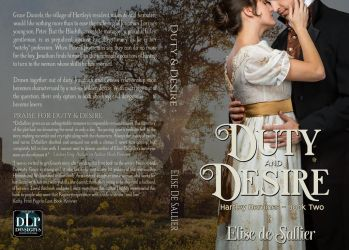 ** SOLD ** Duty and Desire Book Cover by DLR-Designs