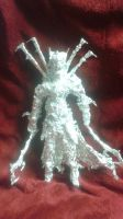 Tower of Sauron - Aluminum Foil Sculpture by TheFoilGuy