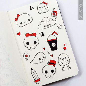 Kawaii Doodle by PicCandle