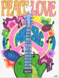 Peace Love Music by JessAtor