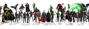 DCEU New Intro. Characters by Gasa979
