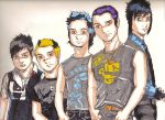 Avenged Sevenfold Group Shot by WoundStitchings