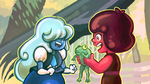 Ruby and Sapphire and FROG! by catawump