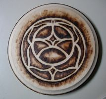 wood rose seal by utenafangirl