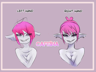 Challenge: Drawing with the left hand by CafeinaLoka