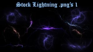 Stock Lightning .png's 1 by tobaal
