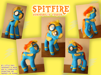 Spitfire Wonderbolts Version by Jackiekie