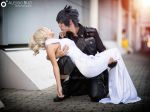 Lunafreya and Noctis from FFXV by MartiHope