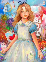 Alice by Katsuvy