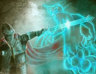 Ethereal State digital illustration TCG by PeterKmiecik