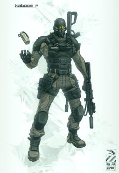 Black Ops Unit by duster132