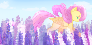Fluttershy in lupin by GLaSTALINKA