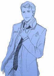 Connor doodle by SeaCobalt
