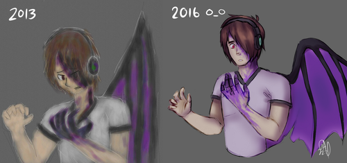 Infected- REDRAW by Gameaddict1234