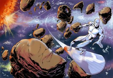 Silver Surfer Dvd cover by Margriff