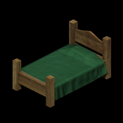 Bed - low poly by pfunked